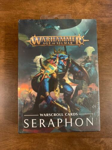 Warhammer Age of Sigmar Seraphon Warscroll Cards NIB Free Shipping Lizardmen