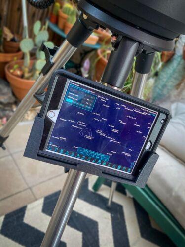 "Telescope iPad Mini Mount. For Celestron 8se, 6se, 5se, 4se, Evolution 8"", 6"""