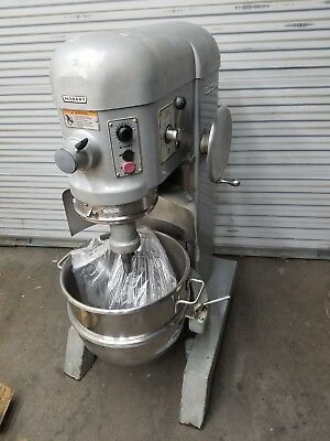 Hobart H600-t 60 Qt Three Phase Mixer 230 Volts With Bowl Guard