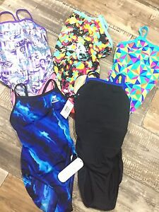 Competitive swim suits. Size 26. 2 new!!!