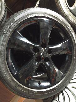 "Holden cruze 17"" black wheels rims  Crestmead Logan Area Preview"