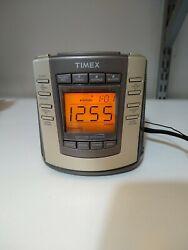 TIMEX T300T Nature Sounds Digital AM/FM Clock Radio Alarm Snooze