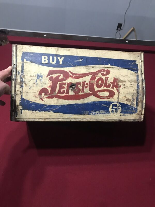 Vintage Double Dot Pepsi Crate: Looks Great!