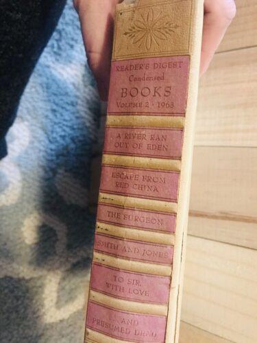 Readers Digest Condensed Books Vol. 4, 1963 - $2.00