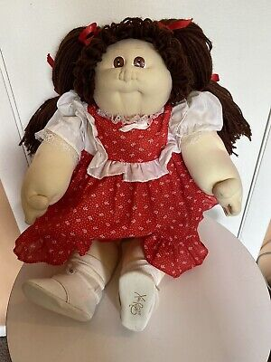 1985 The Little People Soft Sculpture Cabbage Patch Doll Xavier Roberts