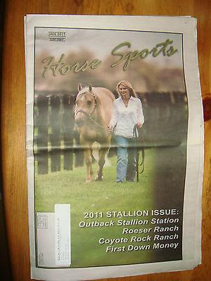 Jan  2011 Horse Sports News Paper Northwest Rodeo Sports News