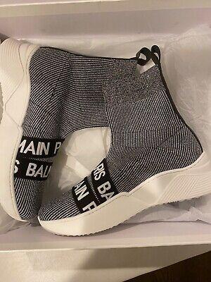 brand new in box Balmain Paris girls sneakers size 35 origianlly $433