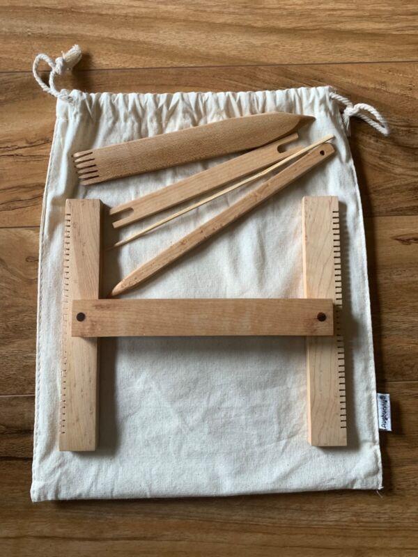 "Jim Hokett tapestry loom kit New 7""X8"""