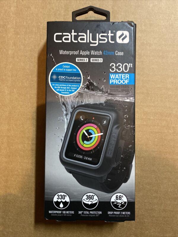 Genuine Catalyst Waterproof Case for 42mm Apple Watch Series 3 (Stealth Black)