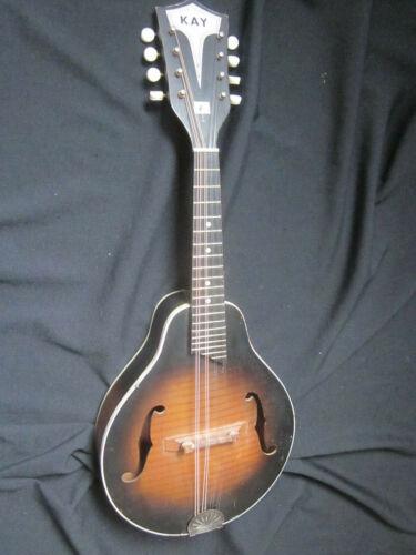 Vintage    Kay N2   Mandolin    working   w/case