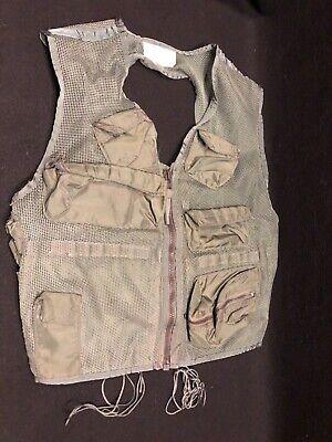 Vintage  Pilot SRU-21/P Mesh Survival Vest with Leather Holster (Medium) EXC!
