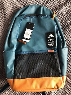 Adidas Classic Urban Backpack TECH MINERAL / TECH COPPER / BLACK Brand New!