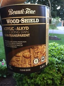 Beauti-tone deck stain