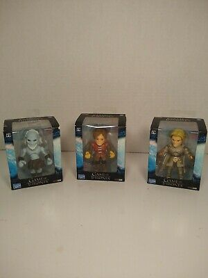 3 Game Of Thrones Mini Vinyl Action Figures white walker,Tyrion&Jamie Lannister