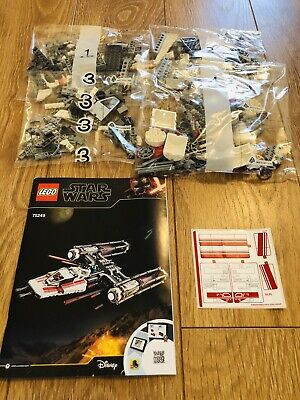 NEW LEGO Star Wars Resistance Y-Wing Starfighter 75249 *NO BOX OR MINIFIGURES*