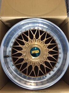"Authentic BBS 17""x8"""