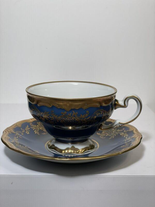 Weimar Katharina Blue Cup & saucer