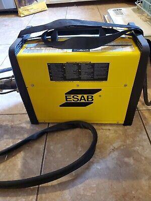 Esab 186i Acdc Sticktig Welder Package Wfoot Pedal