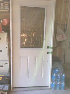 Exterior steel door with the frame size 36X79 inch $250 obo
