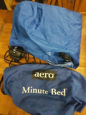Aero Minute Bed Twin Size Quick Inflate Home Bed Mattress With AC Pump Aero Inflatable Beds