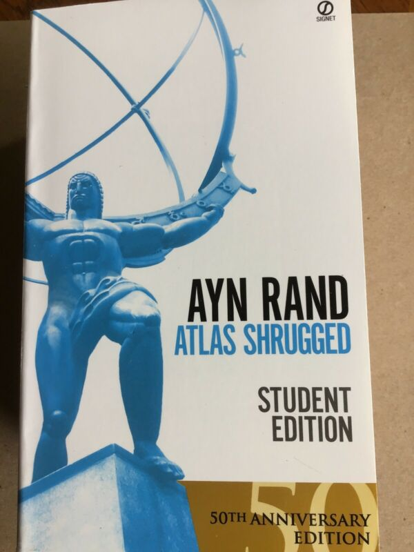Atlas Shrugged Ayn Rand (1996, Paperback, Revised) NEW 50th Anniversary Edition