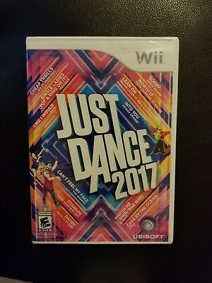 Wii JUST DANCE 2017 - BRAND NEW - FREE SHIPPING