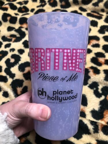 Britney Spears Piece of Me Planet Hollywood cup from the show HTF