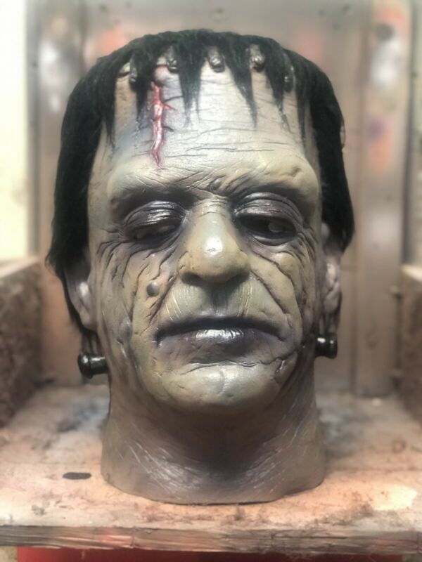 Glenn Strange Frankenstein Mask Custom Mask Not Don Post