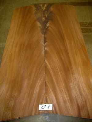 Exotic Wood Veneer - Quarteredswirl Mahogany 227