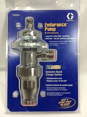 New Graco 17c721 Endurance Pump