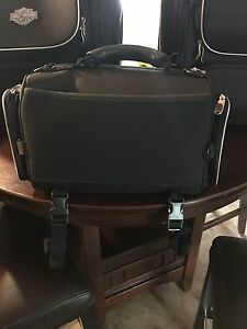 Authentic Harley Davidson luggage black and grey Sarnia Sarnia Area image 7
