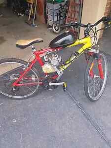 Motorized bike 80cc Melton West Melton Area Preview