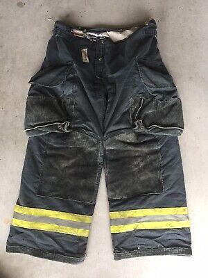 Firefighter Janesville Lion Apparel Turnout Bunker Pants 36x28 07 Black Costume