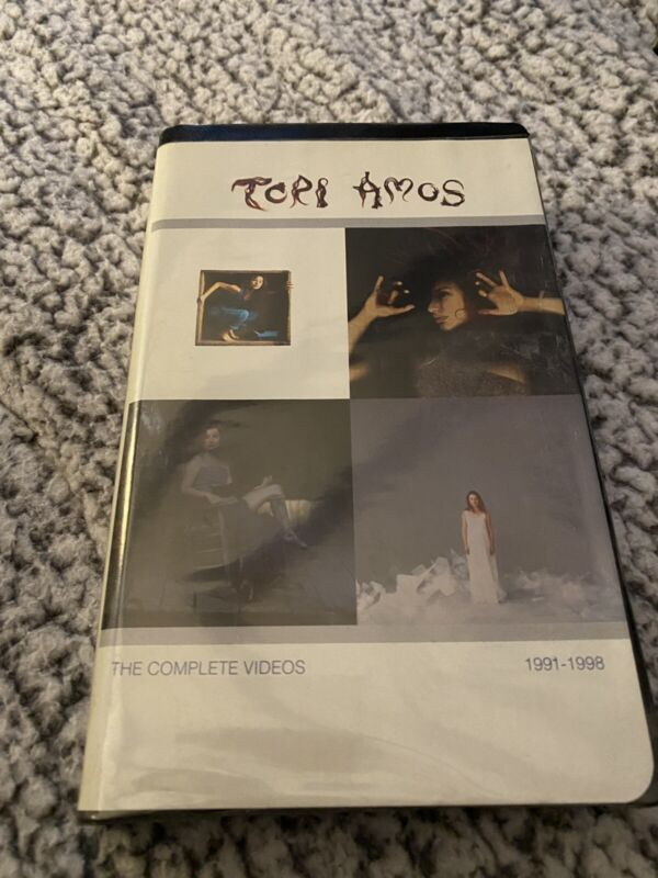 """Tori Amos """"The Complete Videos: 1991-1998""""VHS-1998-Excellent Condition!!"""