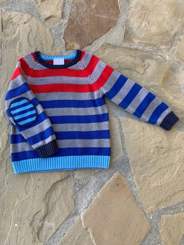 Pre Owned Hanna Andersson Boys Sweater Size 110