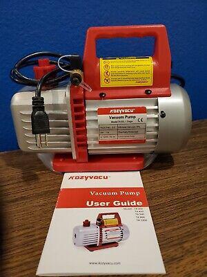 Kozyvacu Ta350 Single-stage Rotary Vacuum Pump For Hvacauto Ac Refrigerant L616