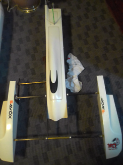 Rc boat brushless outrigger