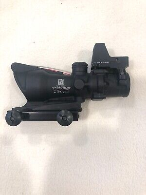 Brand NEW Trijicon ACOG TA31F-RMR Rifle Scope Red Chevron, RMR Dot Combo 4x32mm