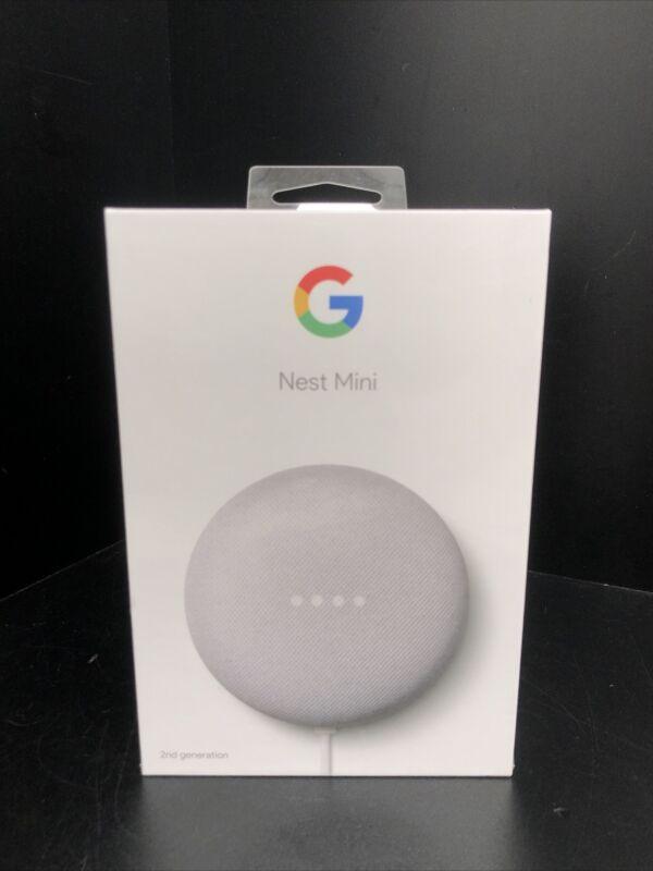 Google Nest Mini H2C 2nd Generation Smart Home Speaker