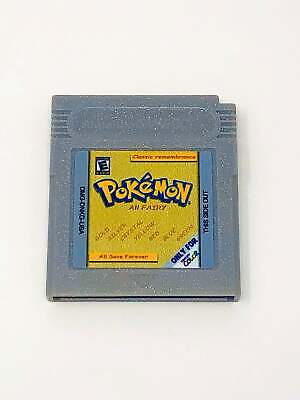 Pokemon 7 in 1 Red Blue Green Yellow Gold Silver Crystal