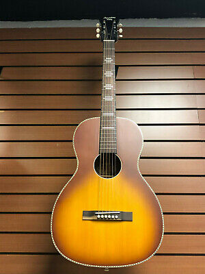 Recording King Dirty 30s Series RPS-7 Tobacco Burst New Blem #0380
