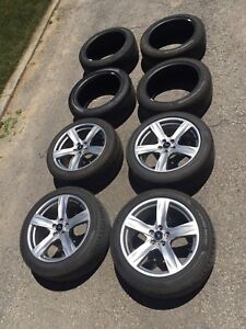 2014 OEM Mustang GT rims and tires