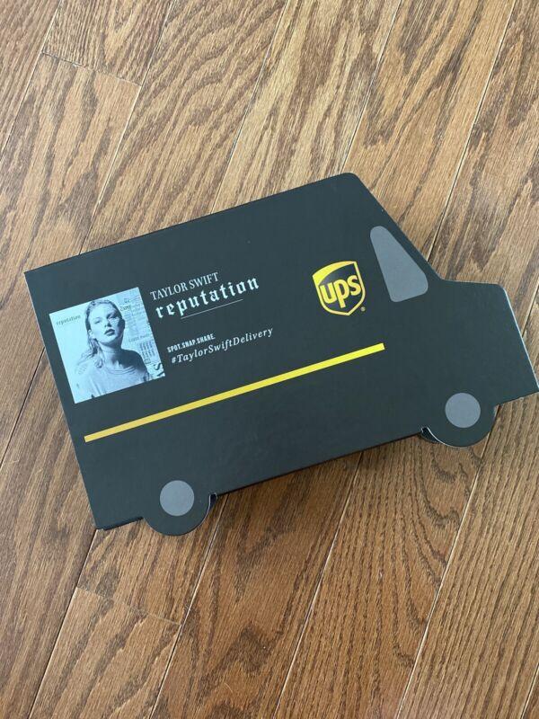Taylor Swift Reputation UPS Limited Edition Box Set
