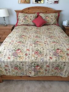 Custom made duvet cover and shams