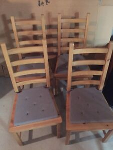 IKEA kitchen chairs-Set of 4