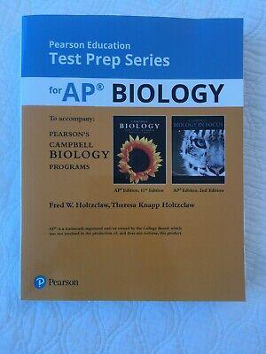 TEST PREP SERIES AP BIOLOGY FOR CAMPBELL BIOLOGY PROGRAMS By Theresa Knapp NEW (Ap Biology Test Prep)