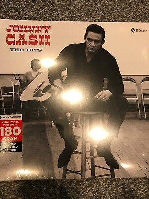 Johnny Cash  - The Hits - 180 g Vinyl LP - Gatefold Sleeve - New v& Sealed