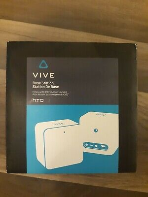 HTC Vive Base Station And Cable, Black - BRAND NEW FAST FREE SHIP