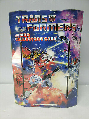 G1 Transformers 1984 Jumbo Collector's Case More Than Meets the
