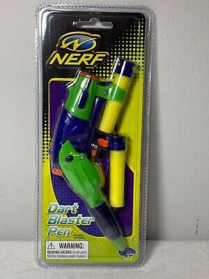 Nerf 2002 Dart Blaster Writing Pen by Hasbro New